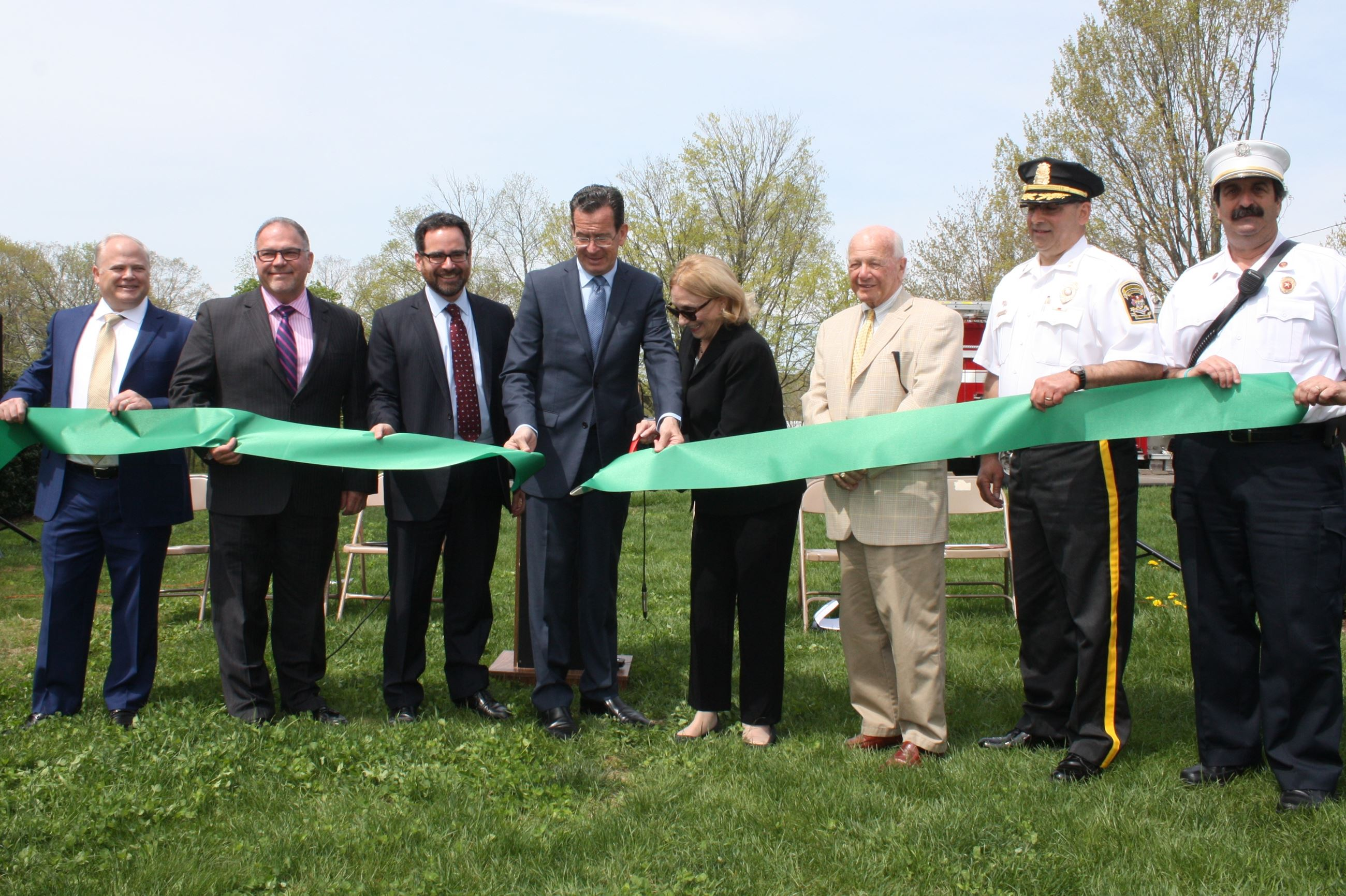 Microgrid ribbon cutting ceremony May 7 2018